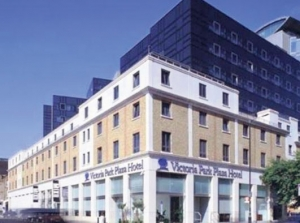 New venue: the Park Plaza Victoria Hotel, close to Victoria in central london