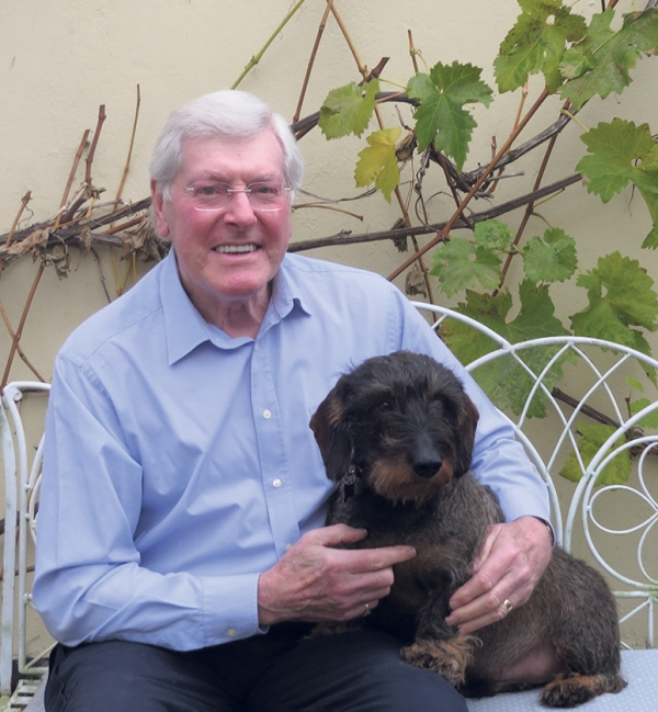 • Peter and Woody his beloved Dachshund