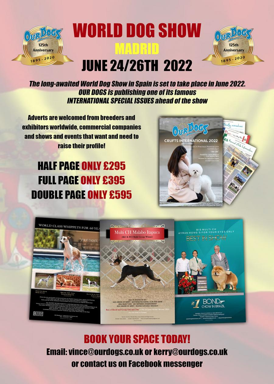 World Dog Show Special Issue 2020