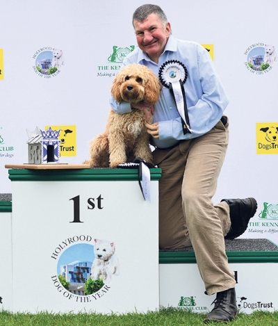 Holyrood Dog of the Year competition winner