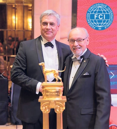 New FCI President Tamas Jakkel pictured with Rafael de Santiago