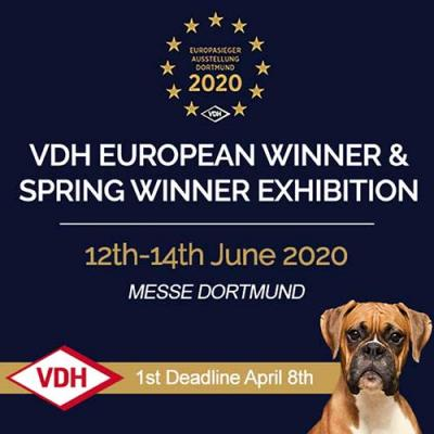 VDH European & Spring Winner